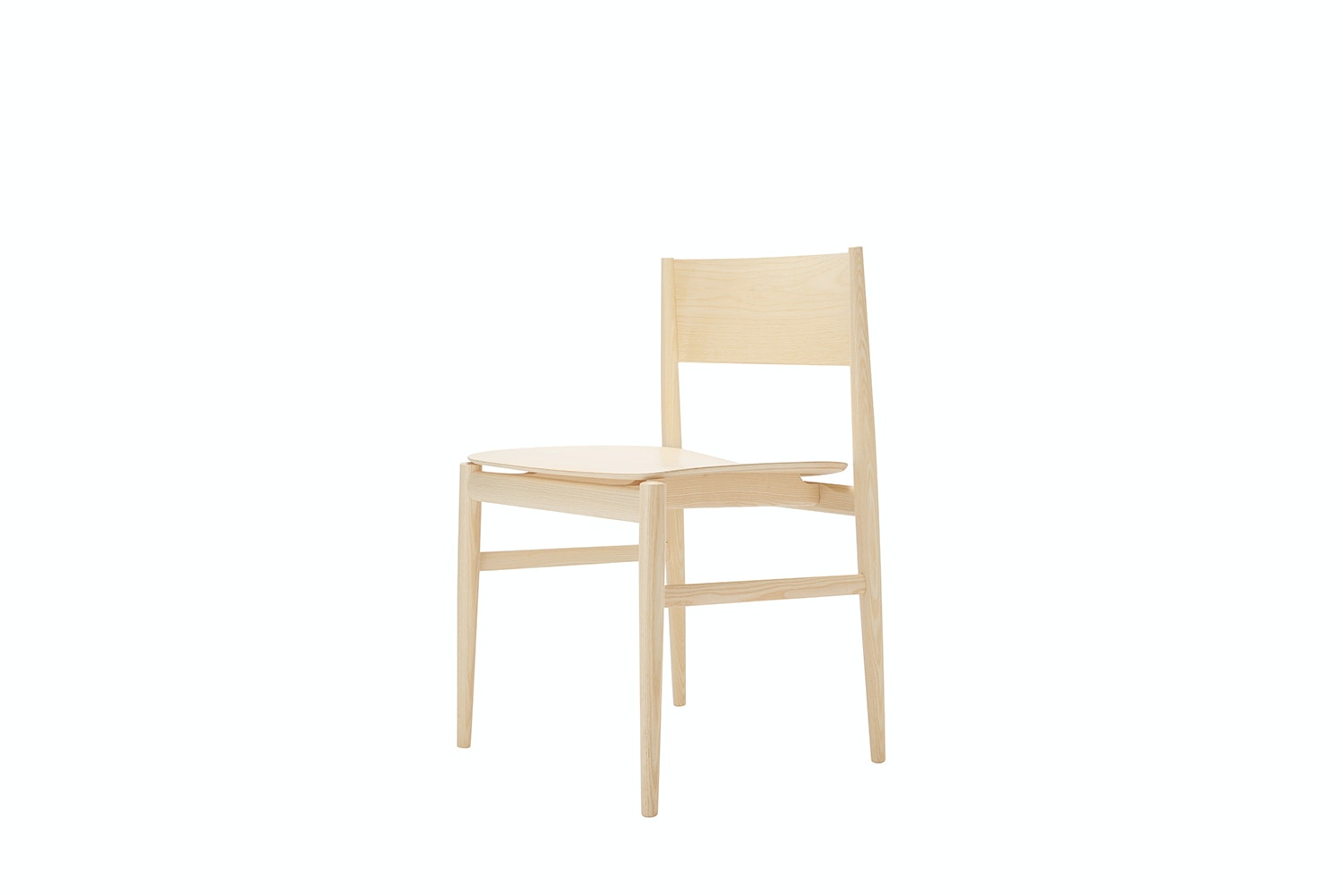 Neve Chair Natural Ash by Piero Lissoni for Porro