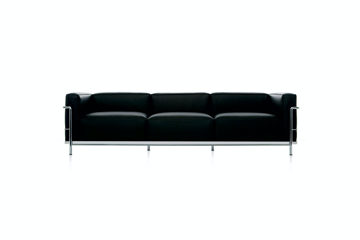 Lc3 sofa by le corbusier pierre jeanneret charlotte for Le corbusier sofa nachbau