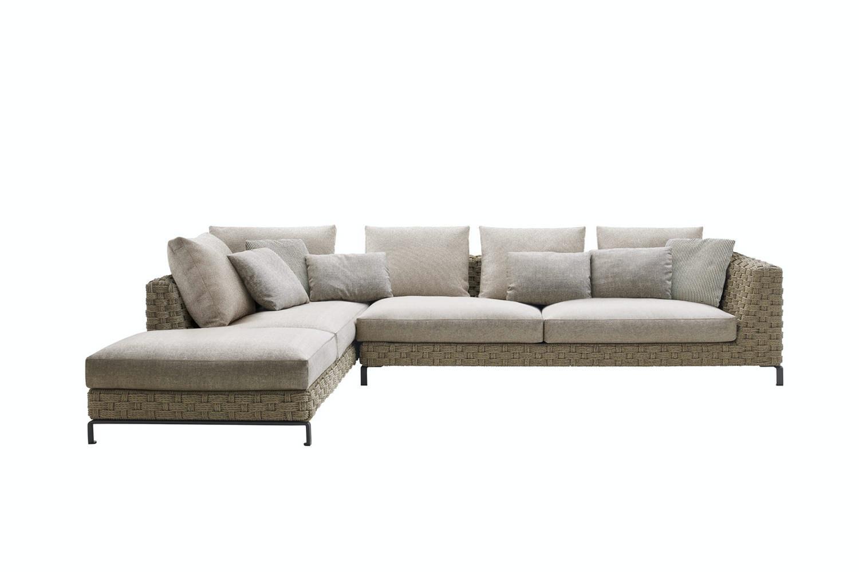 Ray Outdoor Natural Sofa by Antonio Citterio for B&B Italia