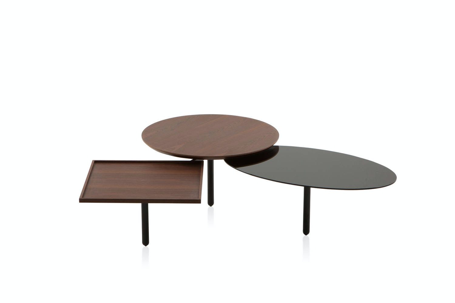 3Table Coffee Table by Front for Porro
