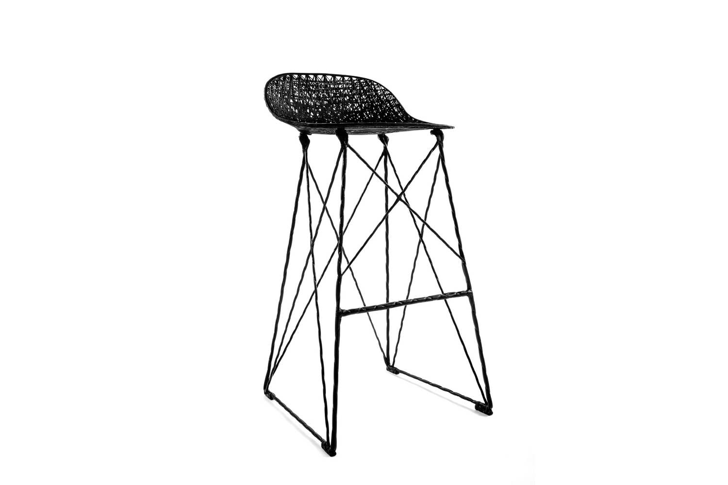 Carbon Bar Stool by Bertjan Pot & Marcel Wanders for Moooi