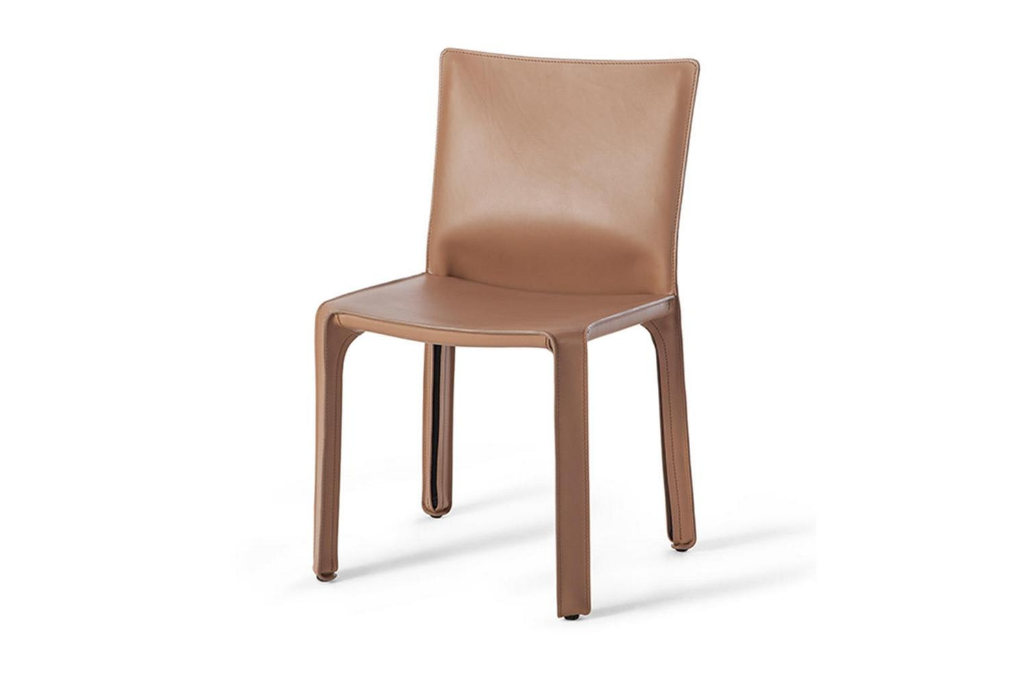 412 Cab Chair by Mario Bellini for Cassina