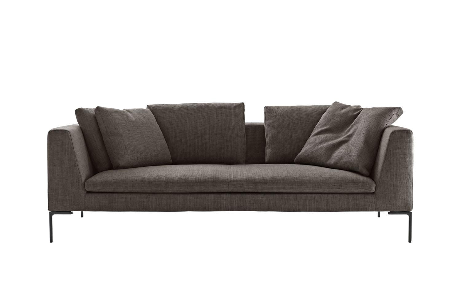 Charles sofa in fabric by antonio citterio for b b italia for Canape b b italia charles