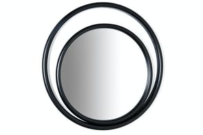 Eyeshine Large Circular Mirror by Anki Gneib for Gebruder Thonet Vienna GmbH