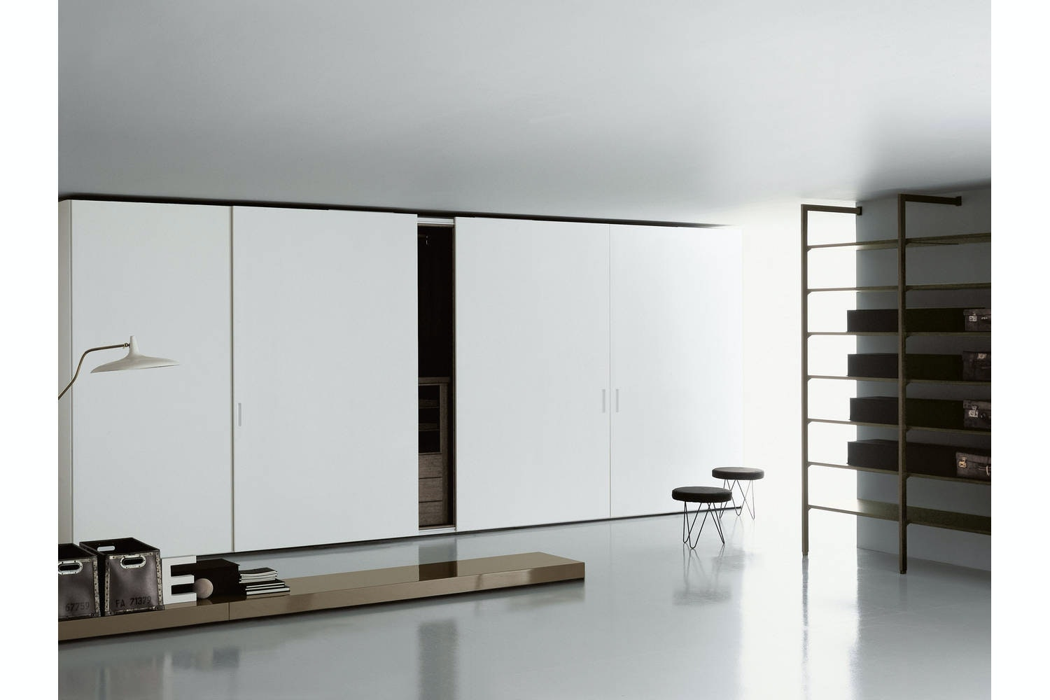 Storage Pull Out Sliding by Piero Lissoni for Porro