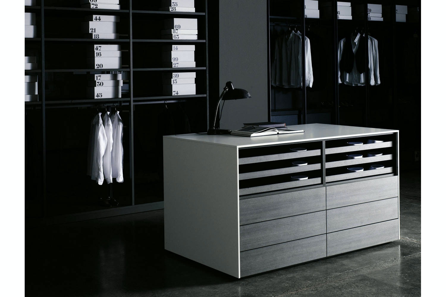 Storage Cassettiera Isola by Piero Lissoni for Porro