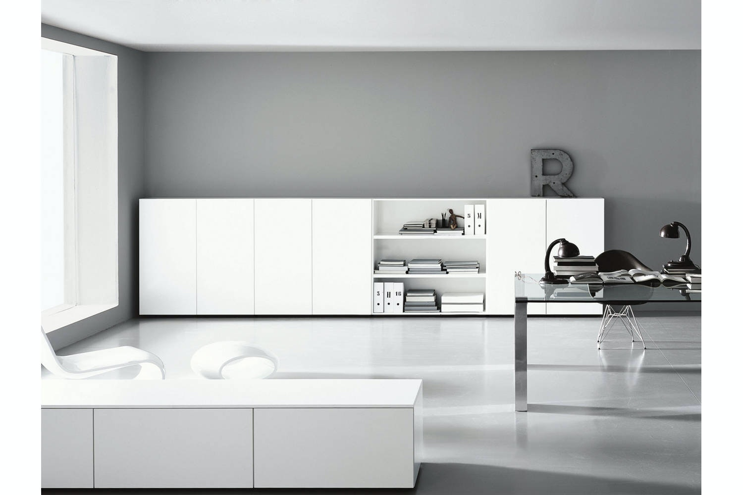Modern Working by Piero Lissoni for Porro