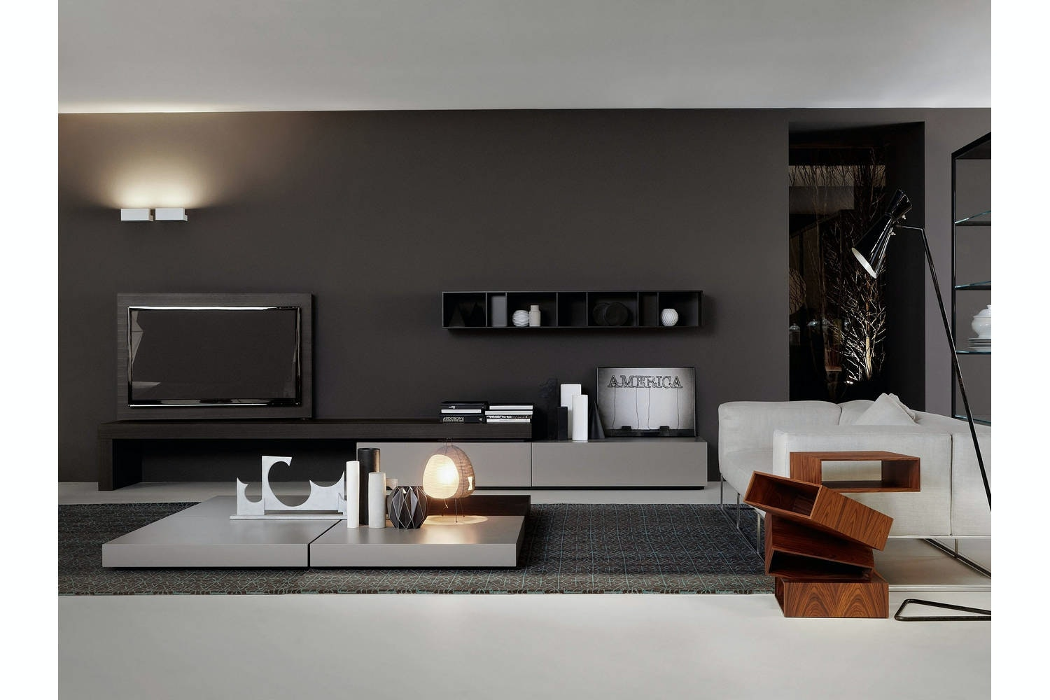 Modern Storage Unit By Piero Lissoni For Porro Space
