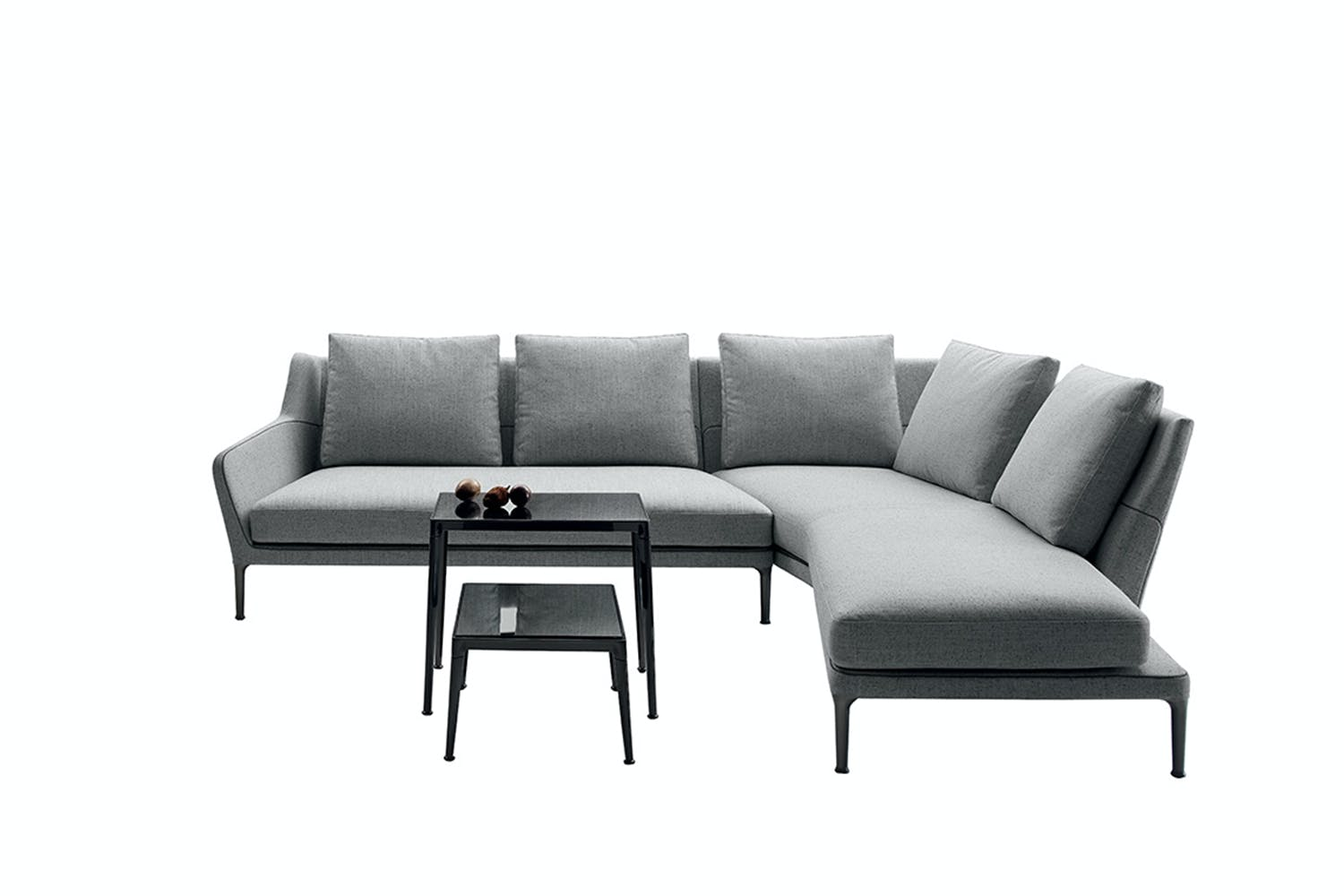 edouard sofa by antonio citterio for b b italia space. Black Bedroom Furniture Sets. Home Design Ideas