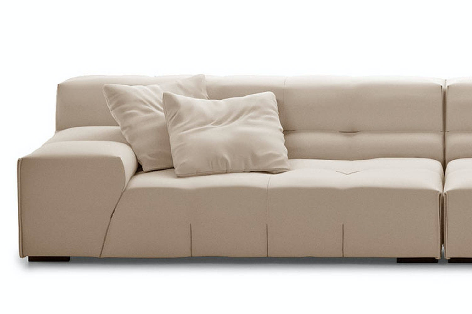 Tufty-Too Sofa with Right Chaise by Patricia Urquiola for B&B Italia