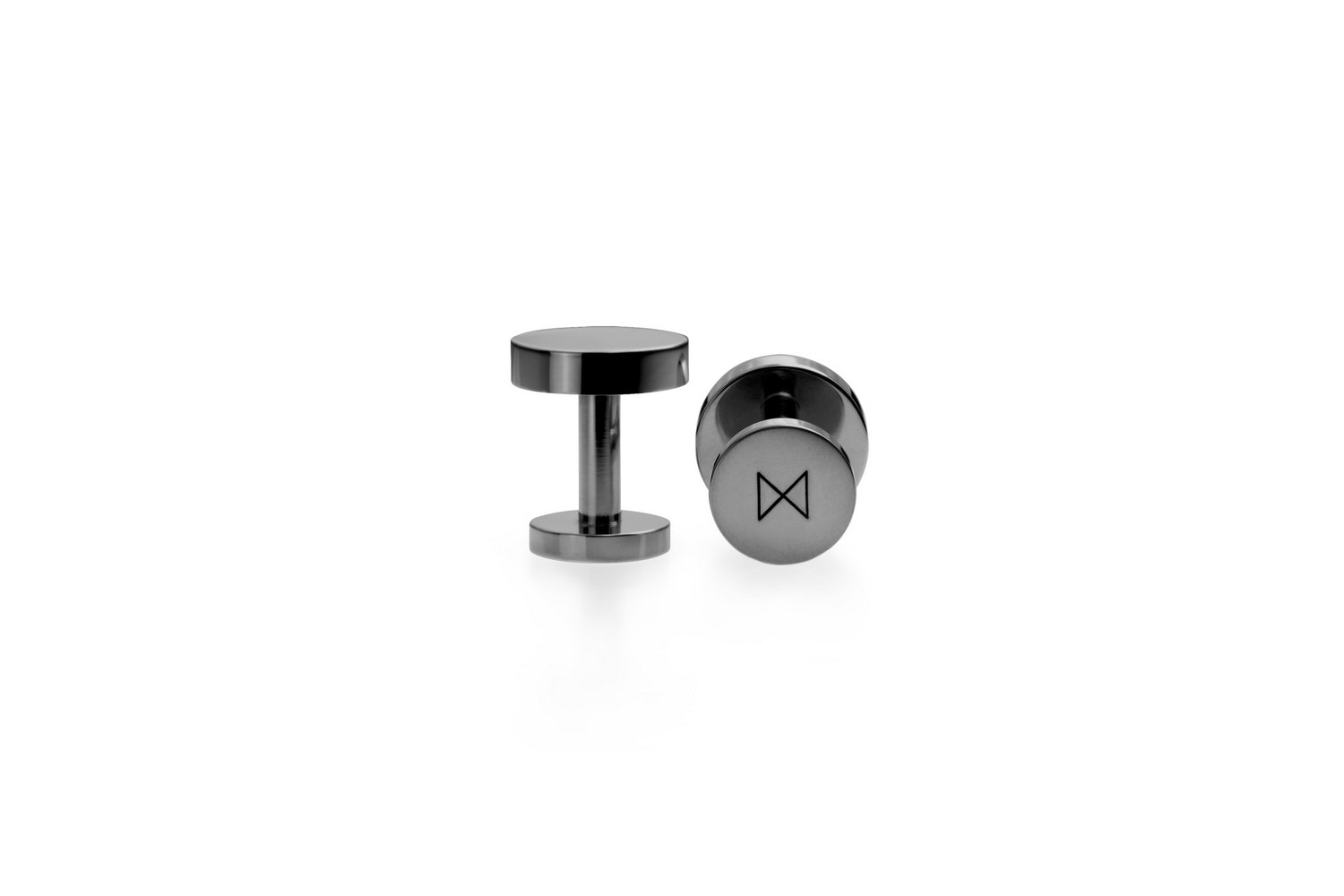 Cufflinks - Black Nickel Plated by Alice Made This for Minimalux