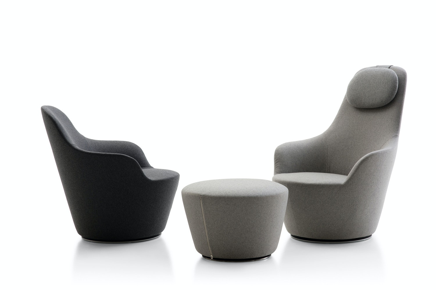 Harbor Armchair by Naoto Fukasawa for B&B Italia