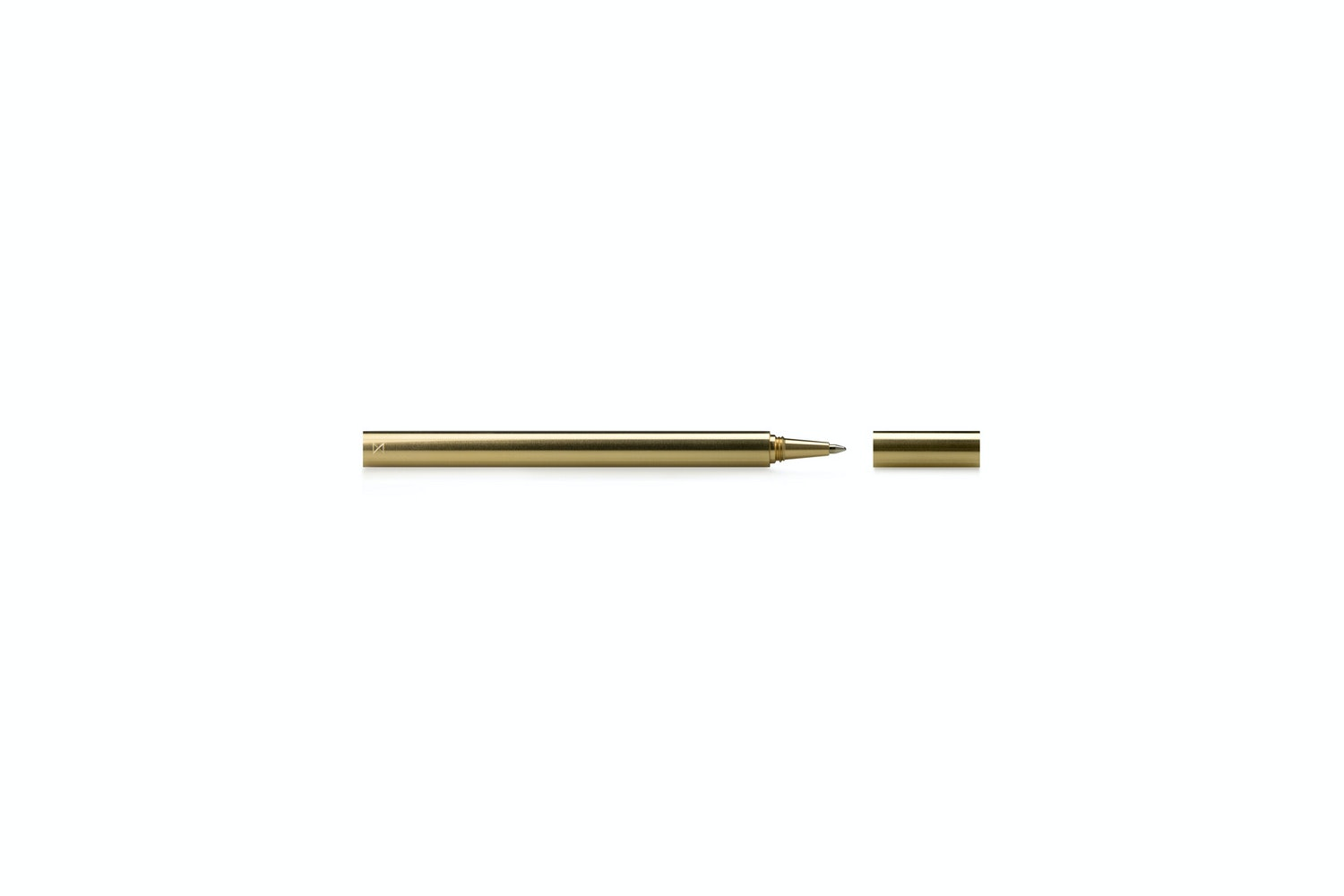 Travel Pen - Machined Brass by Minimalux