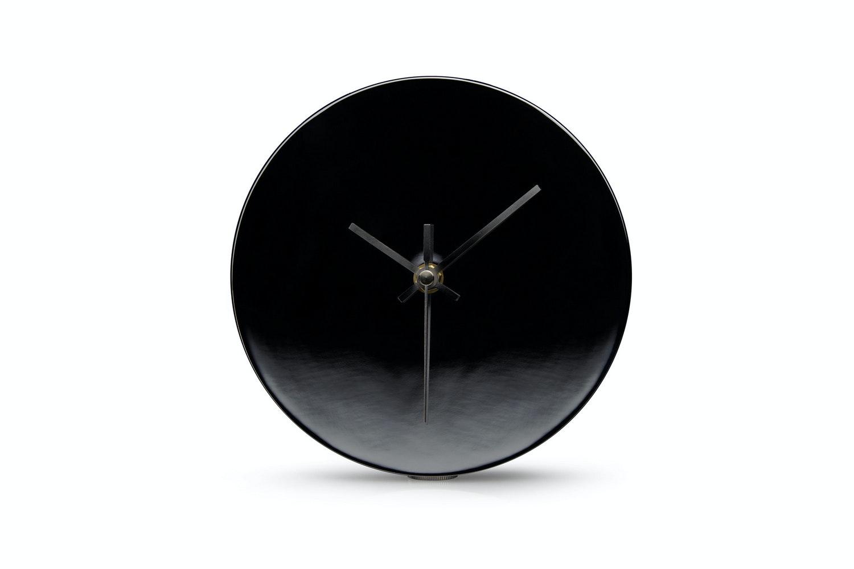 Clock - Black Nickel Plated by Minimalux