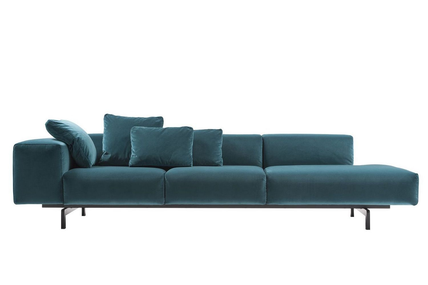 Largo Velluto Sofa by Piero Lissoni for Kartell
