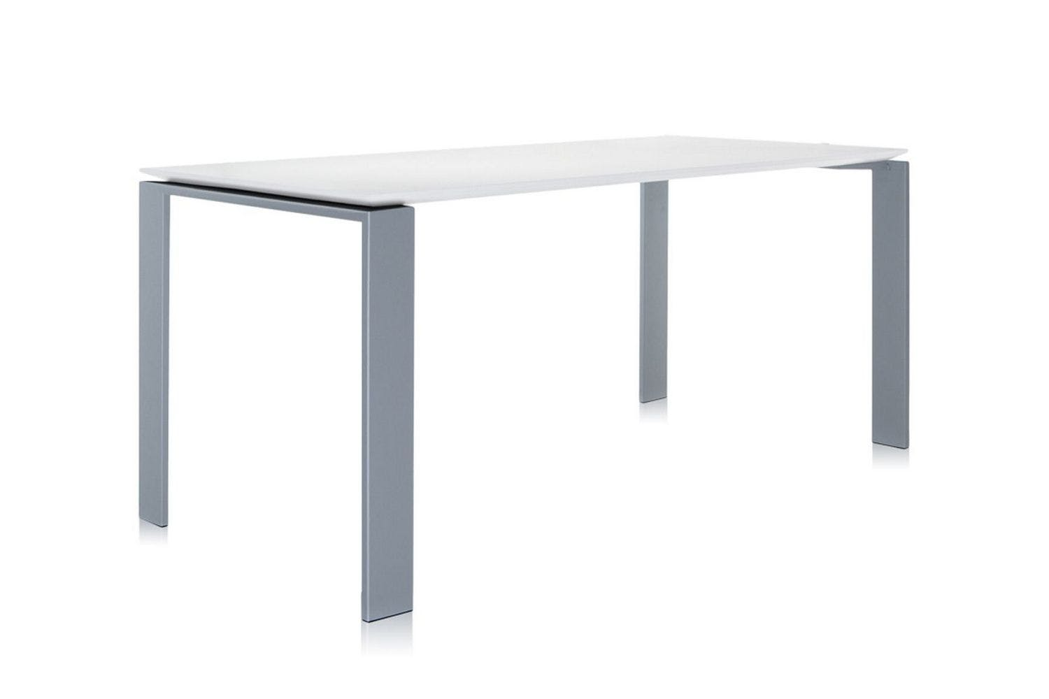 Four medium table by ferruccio laviani for kartell space for Table kartell