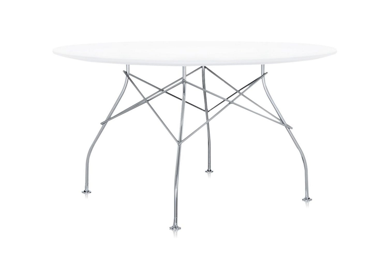 Glossy Laminated Round Table