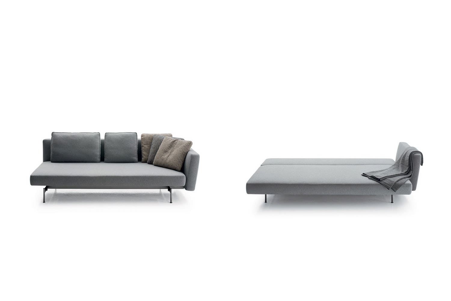 SAKe Sofa Bed by Piero Lissoni for B&B Italia