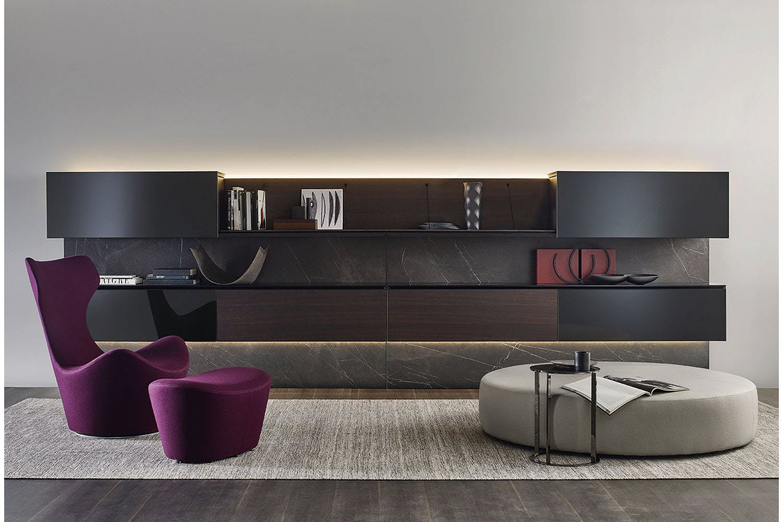 Pab storage unit by studio kairos for b b italia space for B b furniture