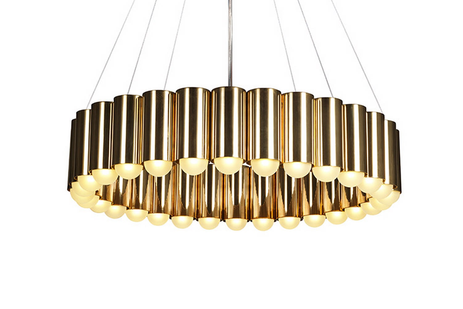 Carousel - Polished Gold by Lee Broom