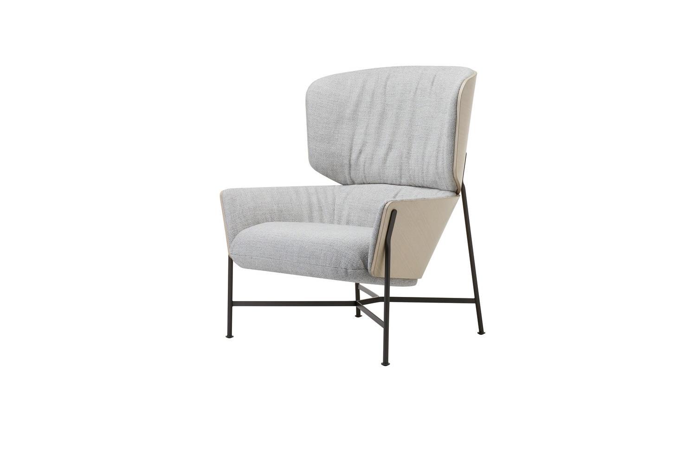 Caristo Armchair High Back Fabric