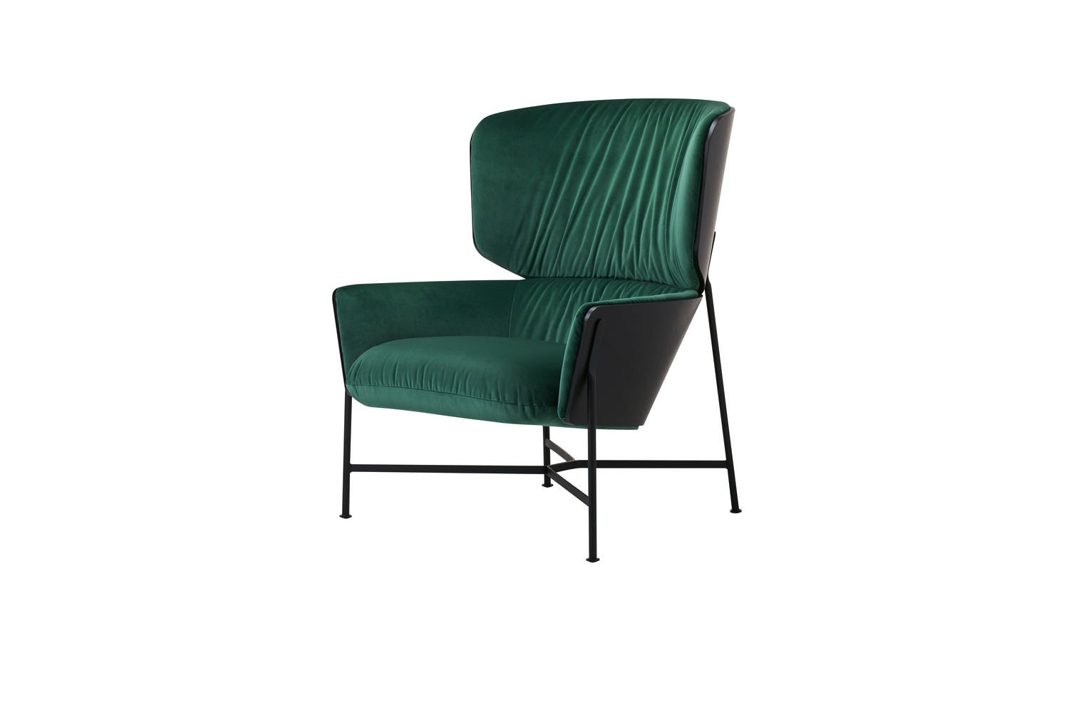 Caristo Armchair High Back Fabric