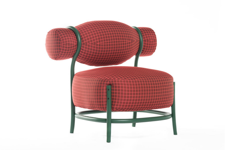 Chignon Armchair by Lucidi & Pevere for Gebruder Thonet Vienna GmbH