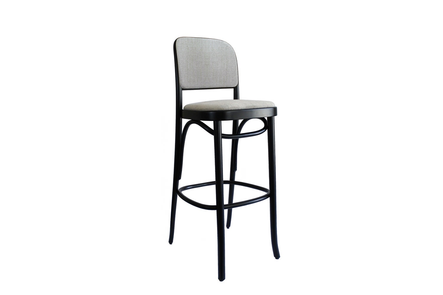 N. 811 Hocker Stool by Josef Hoffmann for Gebruder Thonet Vienna GmbH