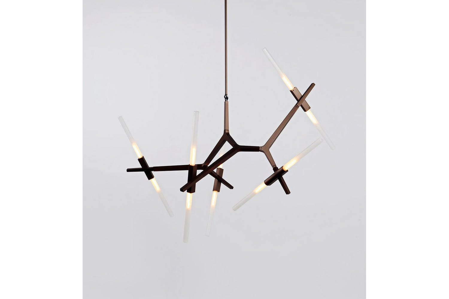 Agnes Chandelier 10 Lights By Lindsey Adams Adelman For Roll Hill