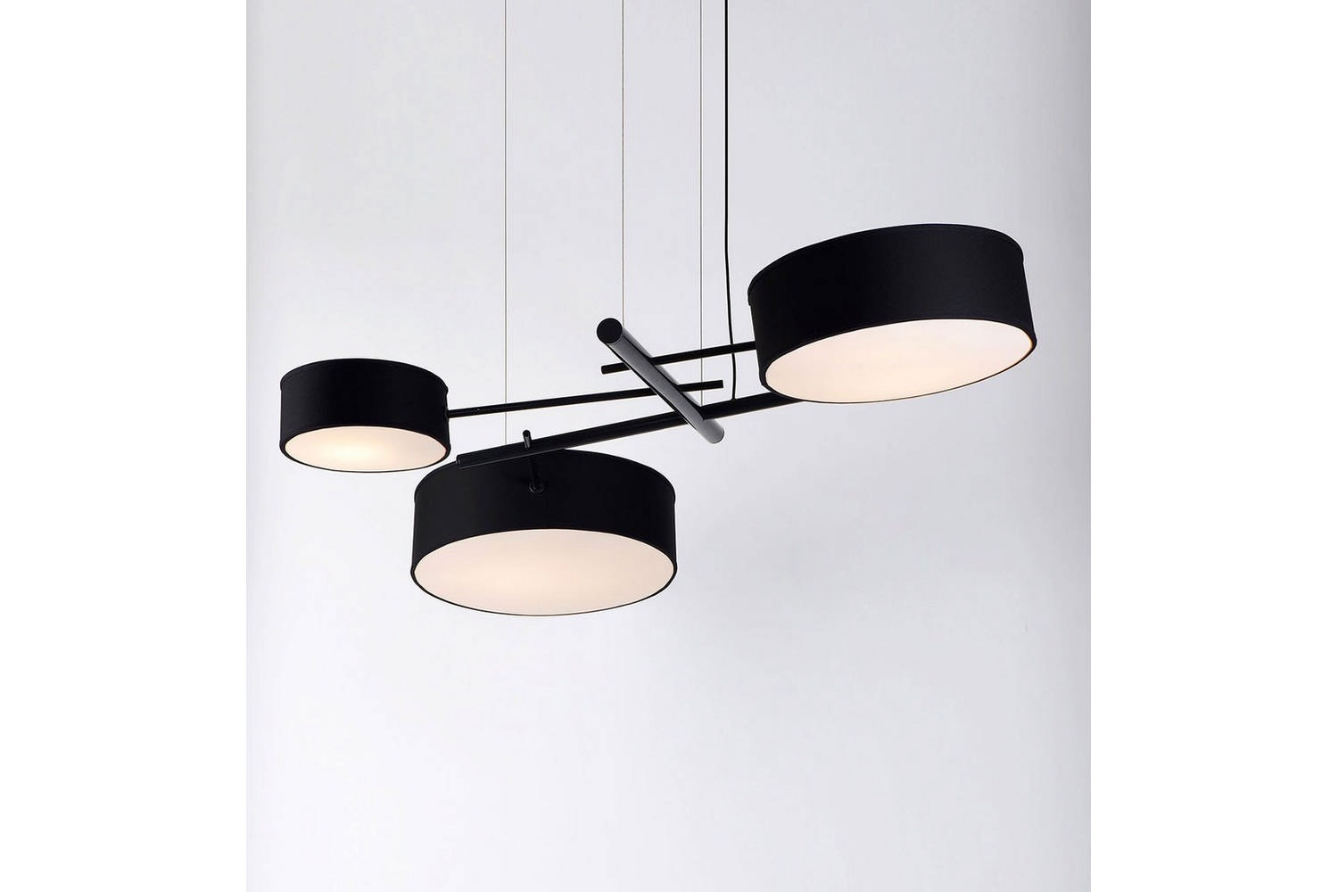 Excel Chandelier by Rich Brilliant Willing for Roll & Hill