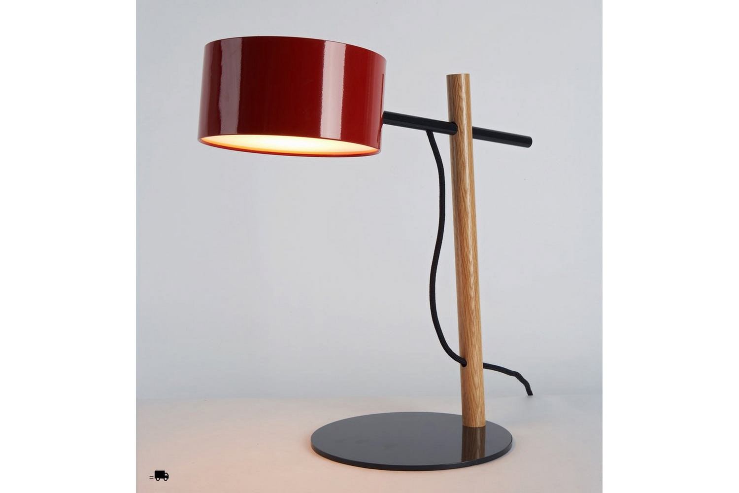Excel Desk Lamp by Rich Brilliant Willing for Roll & Hill