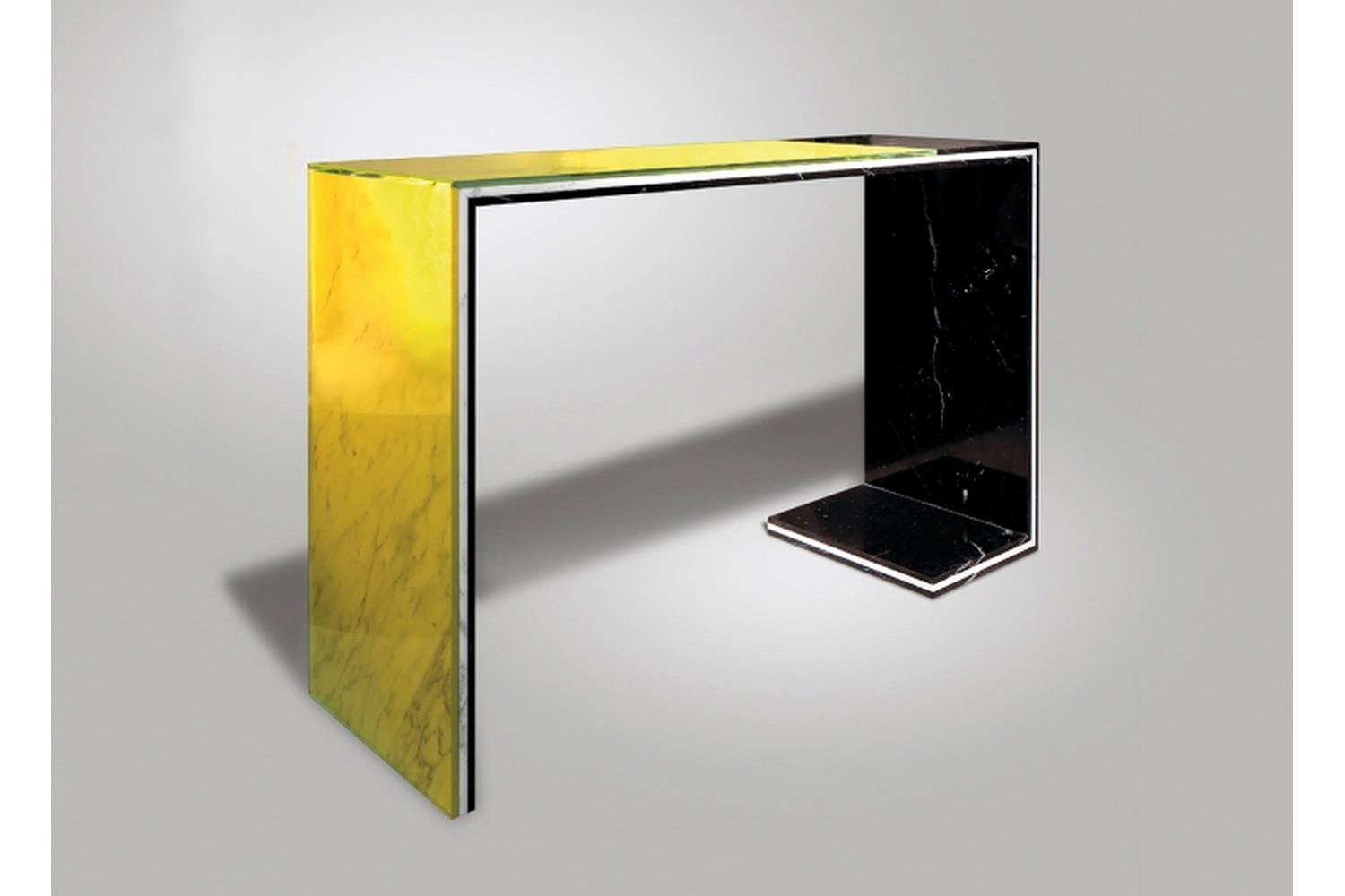 Acid Marble Console Table by Lee Broom