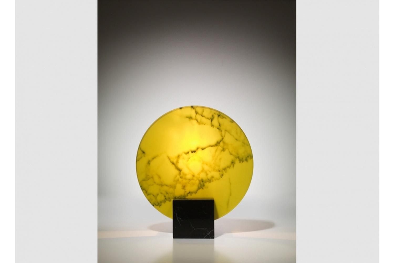 Acid Marble Table Lamp by Lee Broom