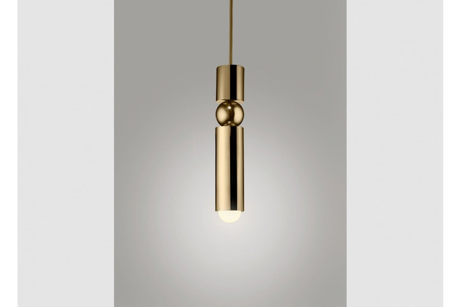 Fulcrum Light - Polished Gold by Lee Broom
