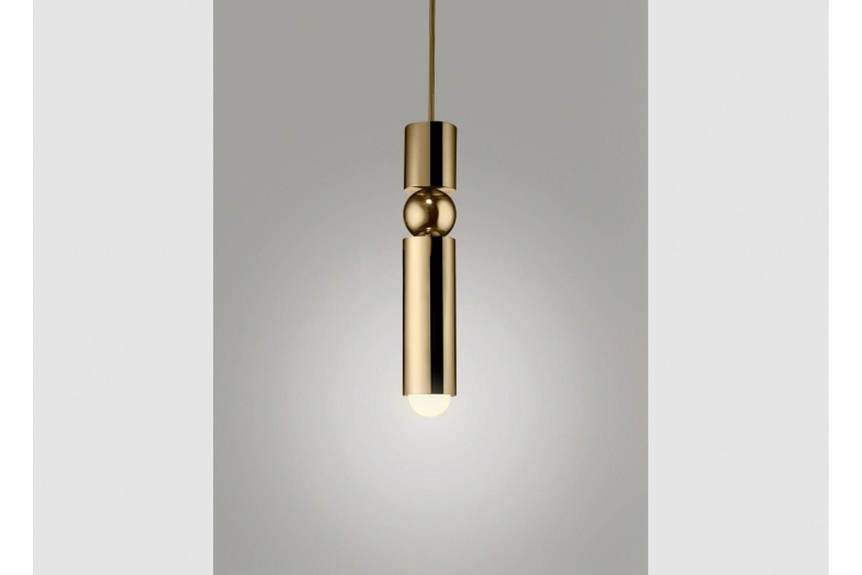 Fulcrum Light - Polished Gold by Lee Broom