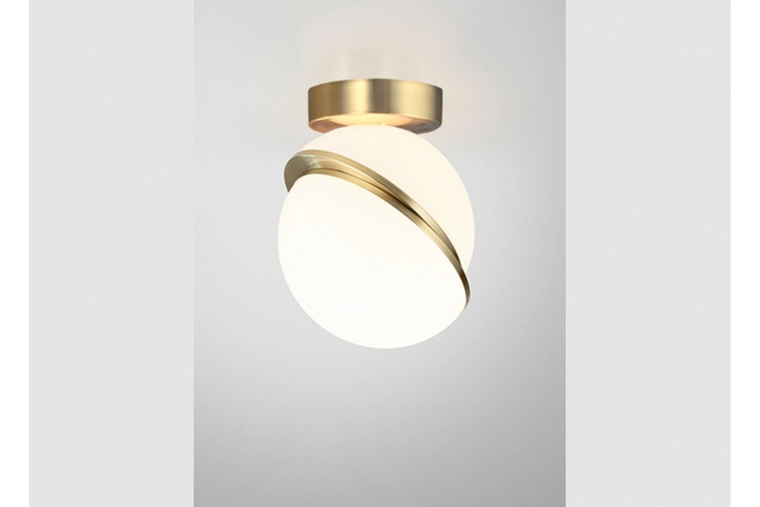 Mini Crescent Ceiling Lamp by Lee Broom