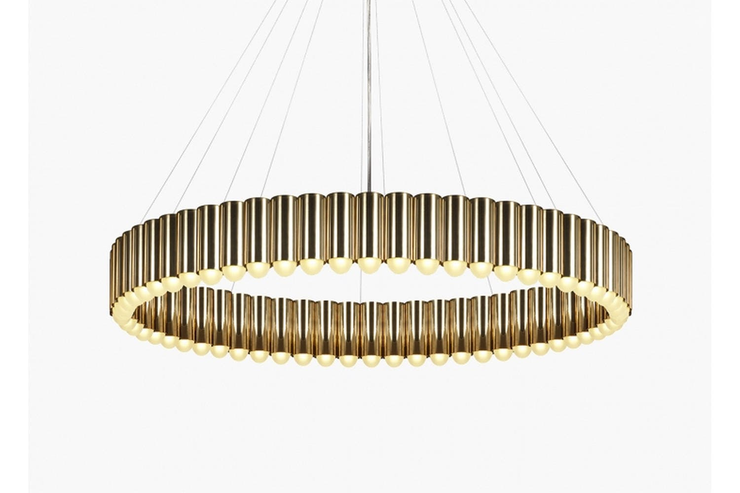 Carousel Xl Polished Gold By Lee Broom Space Furniture