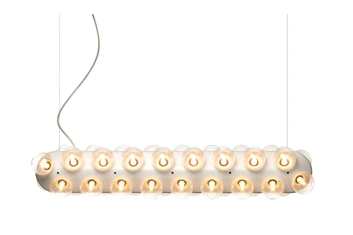 Prop Light Double Horizontal by Bertjan Pot for Moooi
