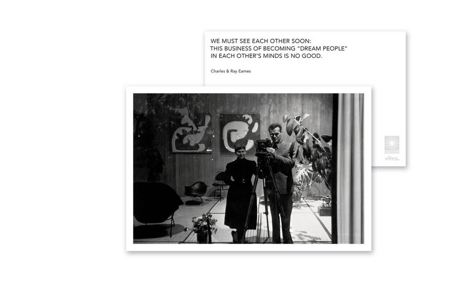 Eames Quotes Greeting Cards By Charles Ray Eames For Vitra Space