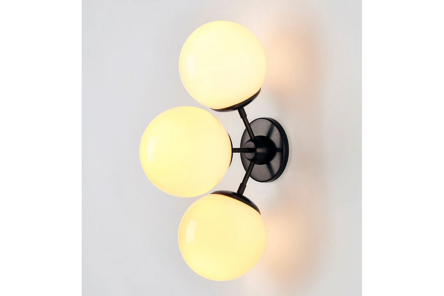 Modo Sconce - 3 Globes Wall Lamp by Jason Miller for Roll & Hill