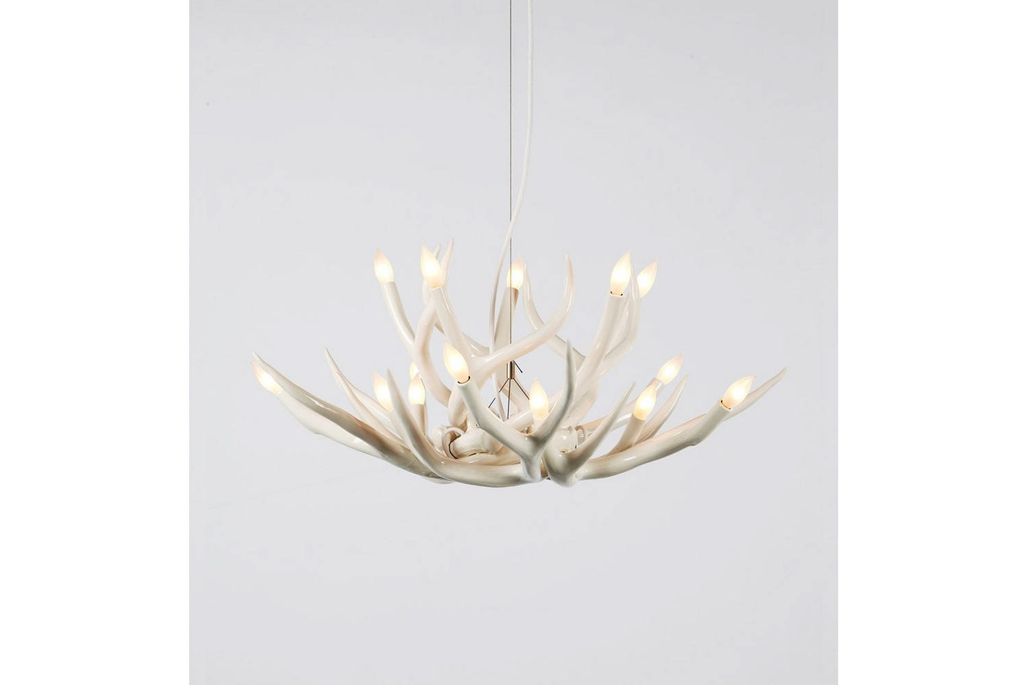 Superordinate Antler Chandelier - 10 Antlers by Jason Miller for Roll & Hill