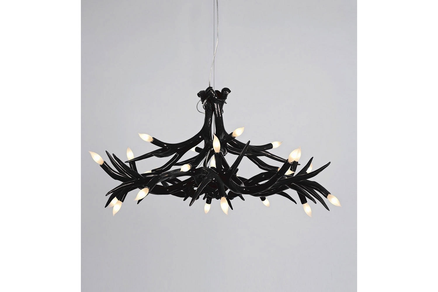Superordinate Antler Chandelier - 12 Antlers by Jason Miller for Roll & Hill