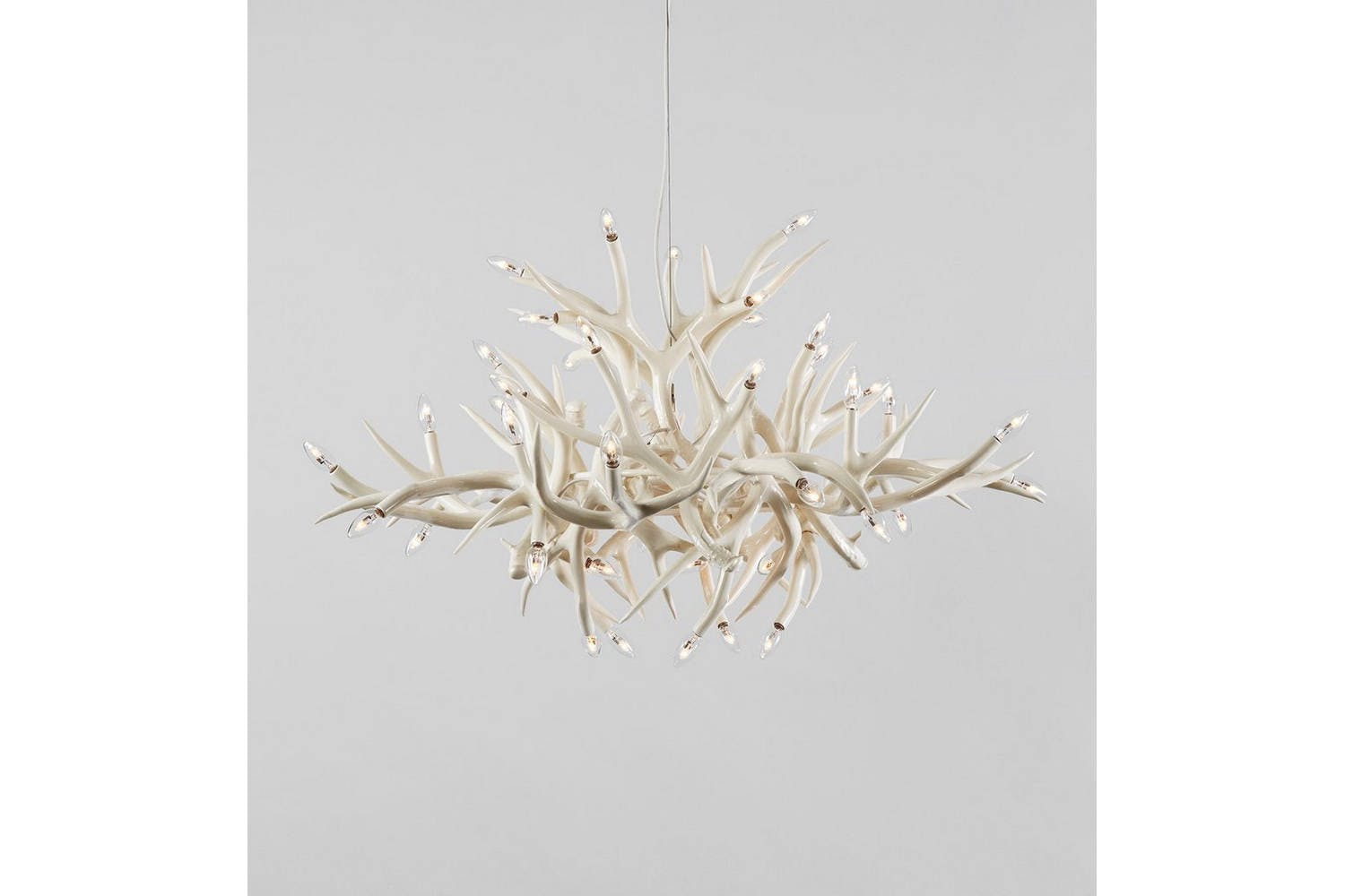 Superordinate antler chandelier 24 antlers by jason miller for superordinate antler chandelier 24 antlers by jason miller for roll hill mozeypictures Image collections