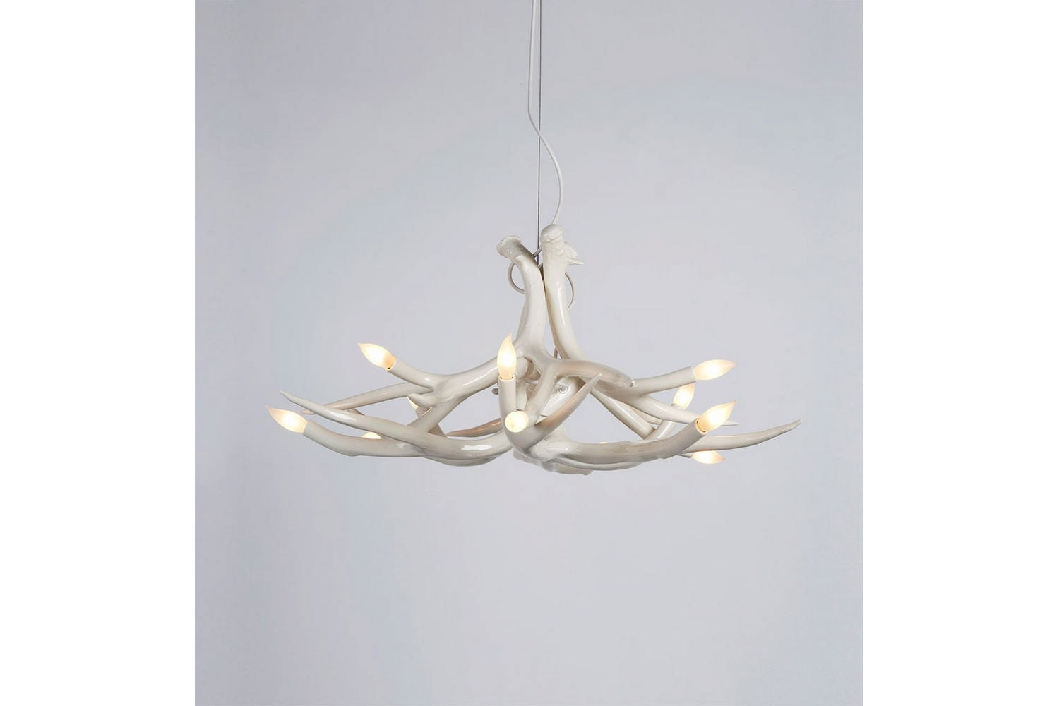 Superordinate Antler Chandelier - 6 Antlers by Jason Miller for Roll & Hill