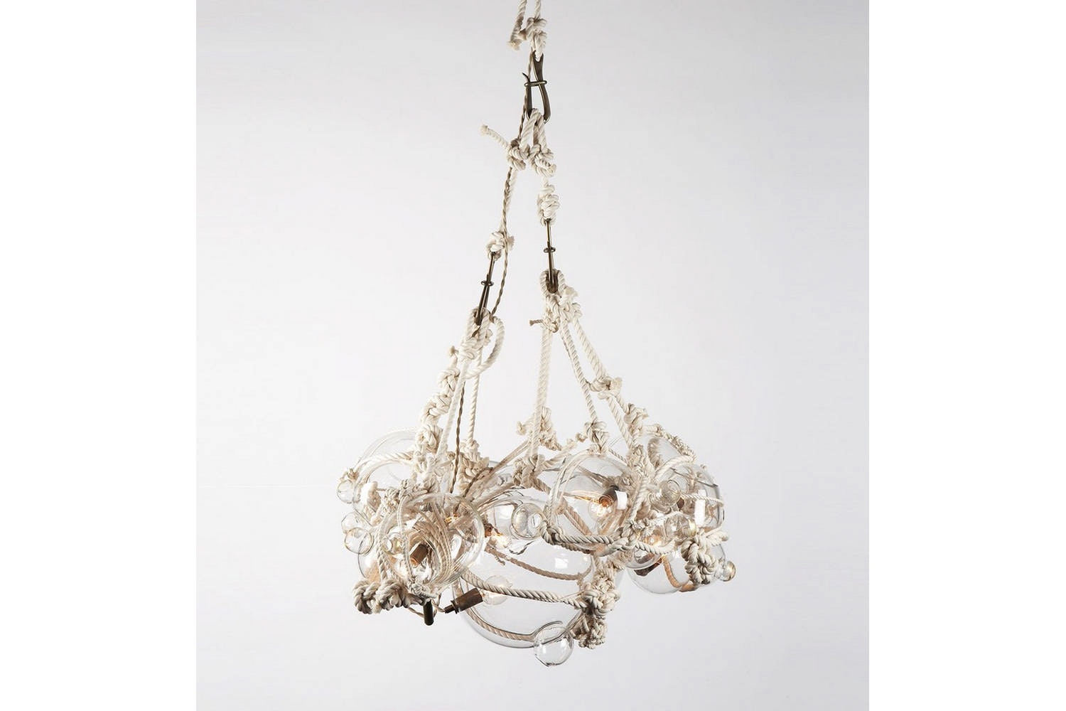 Knotty Bubbles Chandelier by Adams Adelman for Roll & Hill