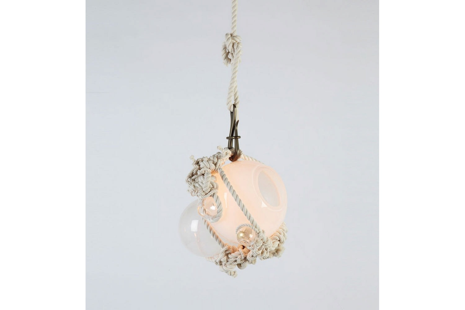 Knotty Bubbles Pendant Suspension Lamp by Adams Adelman for Roll & Hill