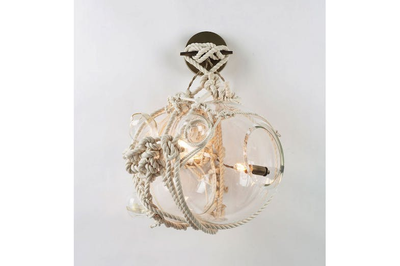 Knotty Bubbles Sconce Wall Lamp by Adams Adelman for Roll & Hill