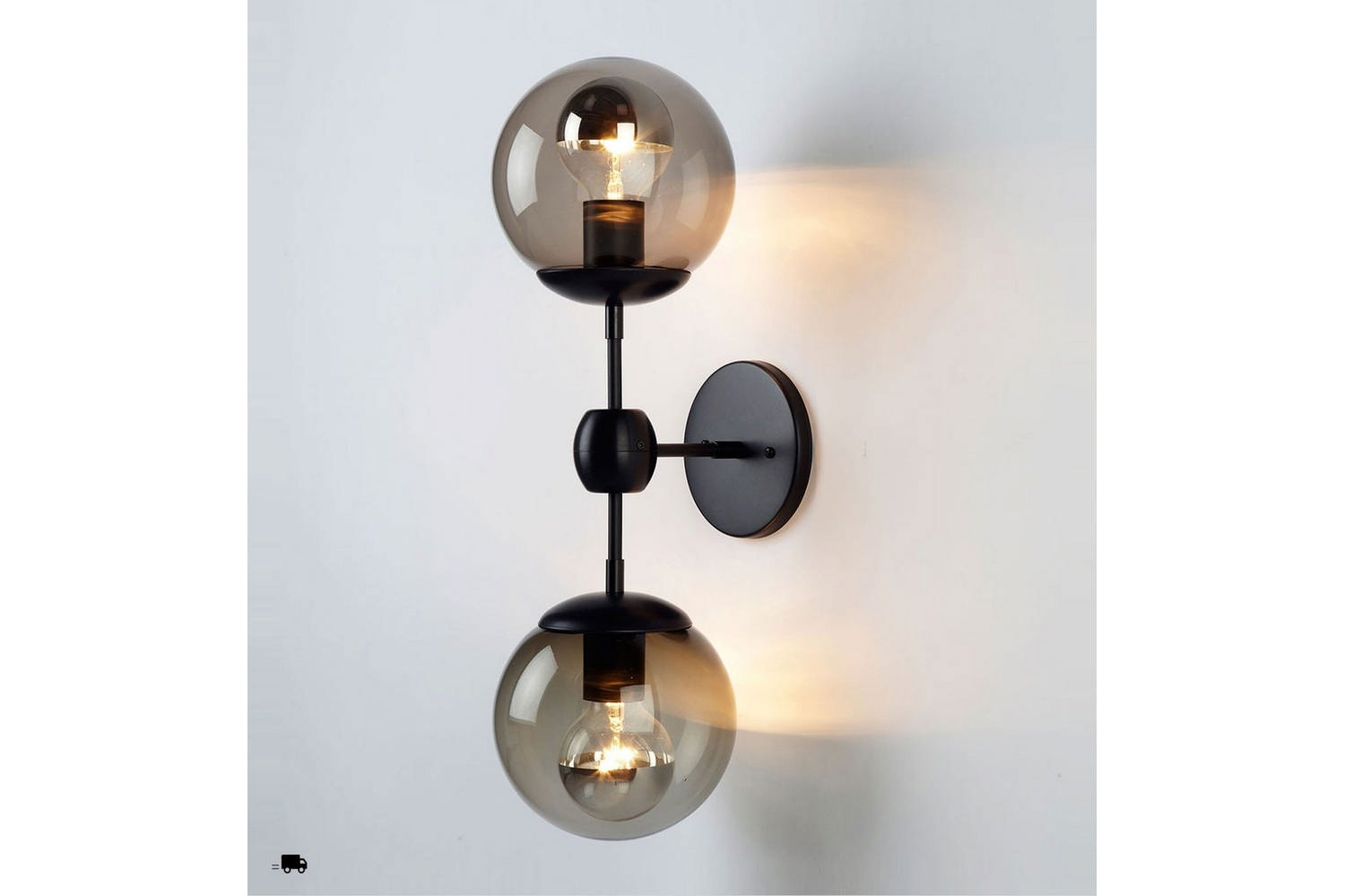 Modo Sconce - 2 Globes by Jason Miller for Roll & Hill