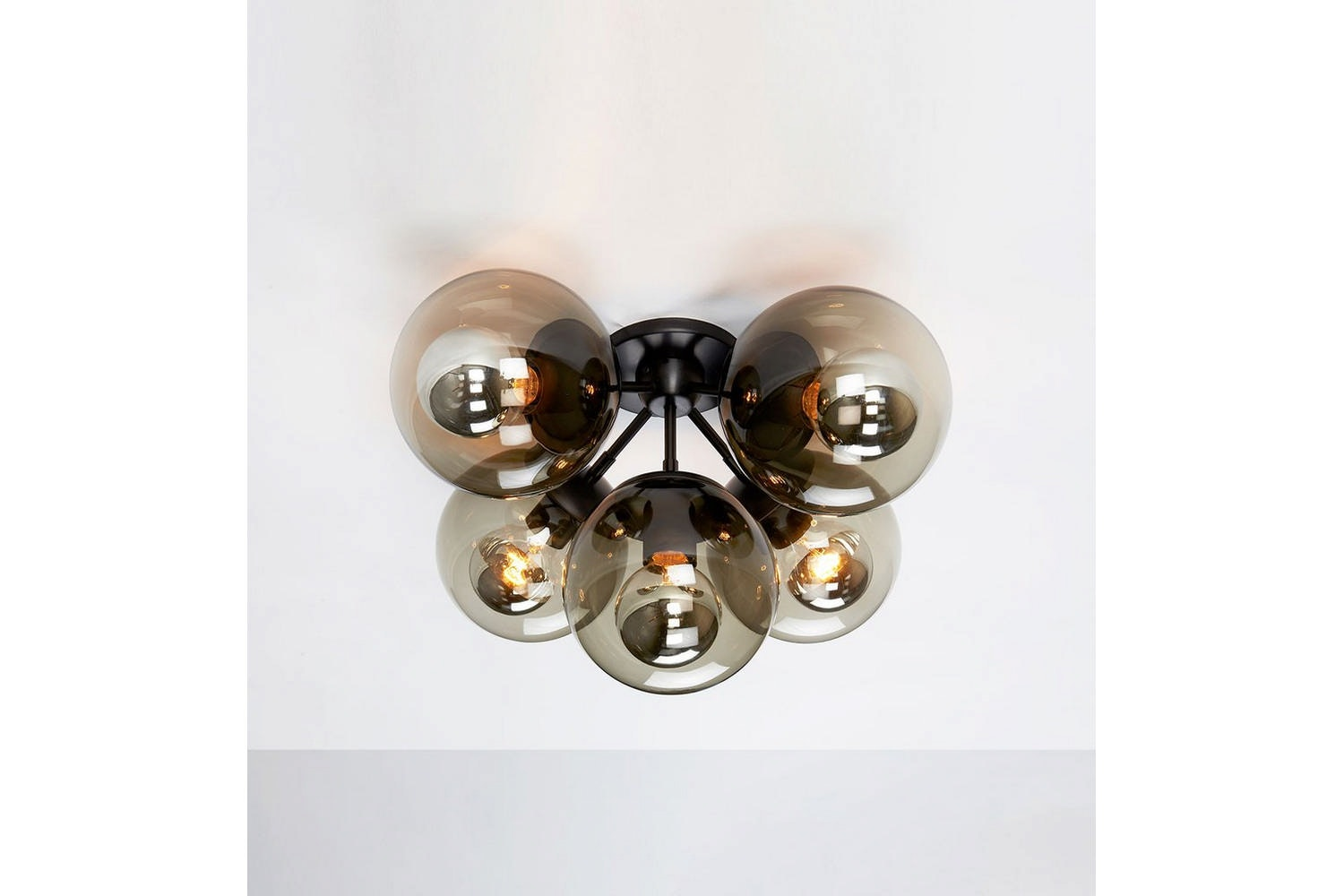 Modo Ceiling Mount - 5 Globes by Jason Miller for Roll & Hill