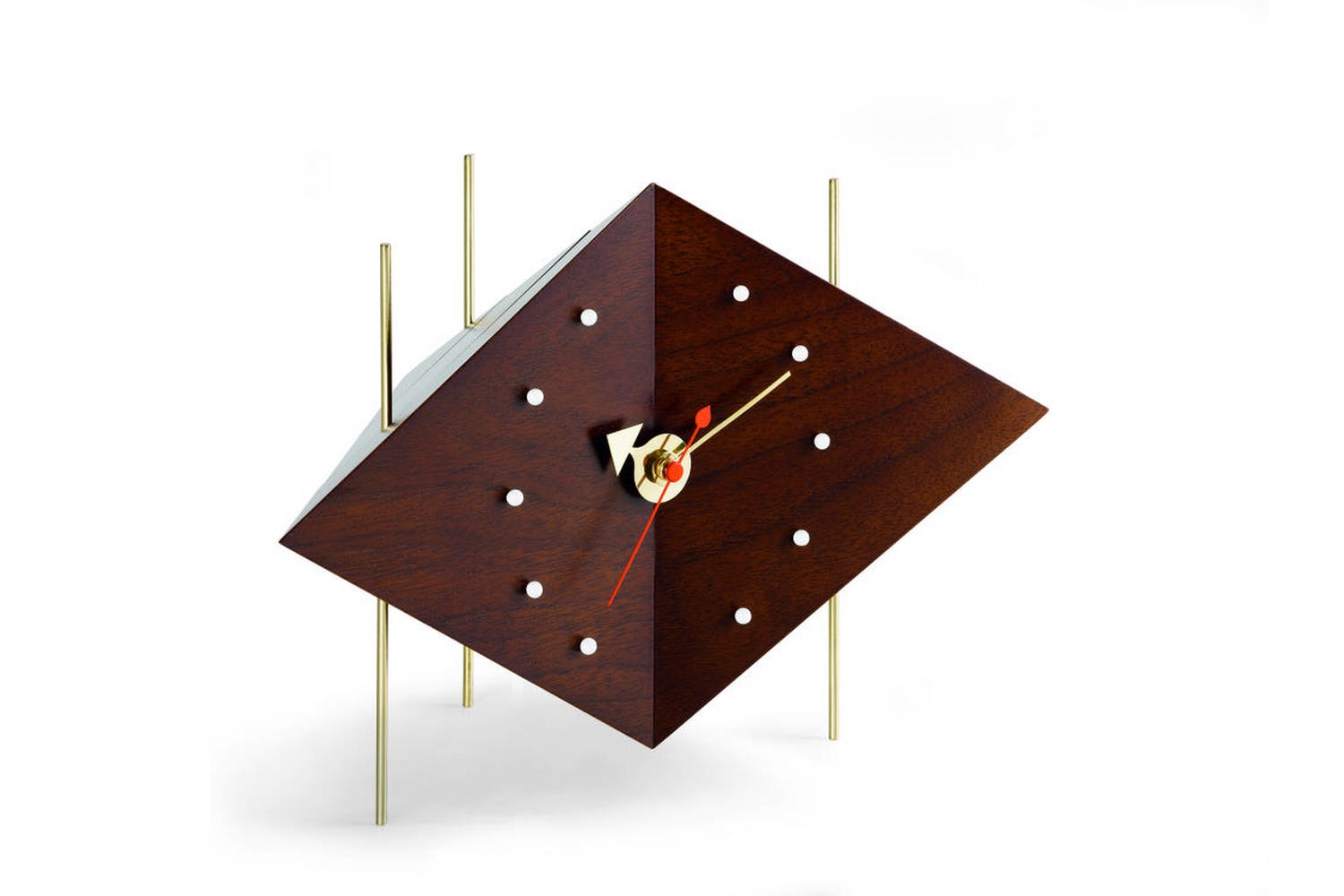 Diamond Clock by George Nelson for Vitra